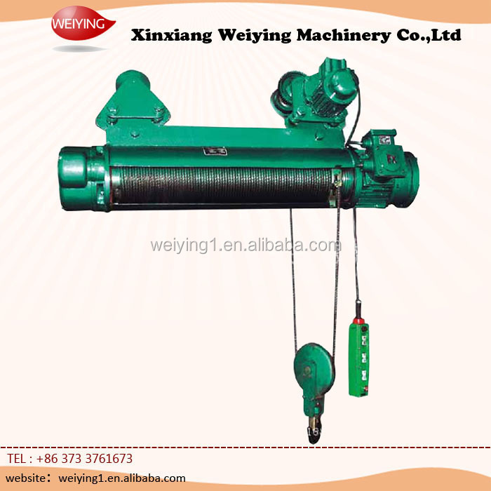 small electric cable rope hoist winch