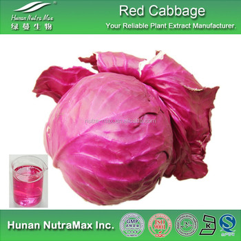 100% Natural Red Cabbage Pigment Food Coloring Powder
