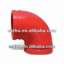 fire protection grooved fittings 90 degree elbow