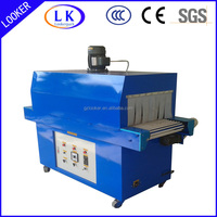 small heat shrink film wrapping machine for the fast food packing