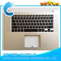 "New US Keyboard Top case For MacBook Pro 15"" A1398 topcase No track pad 2013"