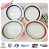 Wholesale price Plates in India/Color Glazed Round Dishes/Classic Round Porcelain Plates