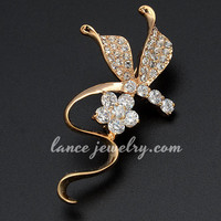 elegant hook mother's day brooches pins