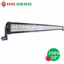 Epistar led light bar, off road 3w Epistar led light bar 72w 120w 180w 240w 288w