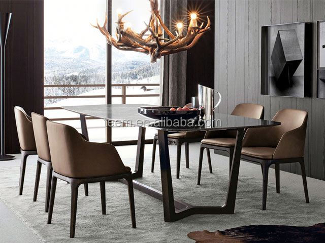 new classic style oblong dining tables (E-31)