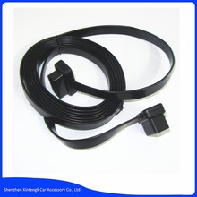 3M OBDII OBD2 Cable Extension 16 Pin OBD2 16 Pin Flat Noodle Male to Female Extension Diagnostic Cable