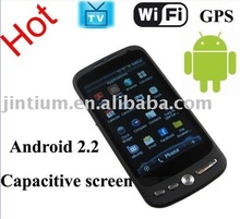 Dual-SIM WiFi GPS TV Android 2.2 Smart Phone with Capacitive Screen (FG8)
