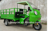closed driving tricycle/three wheel air cooled cabin motorcycle