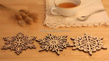 fashion design snowflake for decoration/hangings/gifts and cup mat