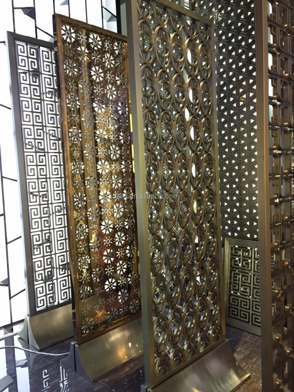 Decorative window screen grill indoor screen backdrop for Window screens for sale