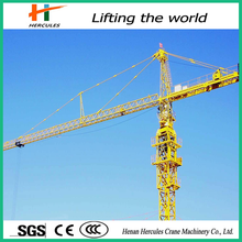 QTZ80 model power towers 8ton/electric moving tower crane price