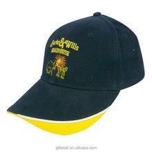 logo embroidery on front sports cap,hats for men