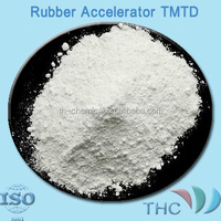 Rubber chemical rubber accelerator TMTD(TT, TMT) for tire industry CAS NO 137-26-8 from shanghai THC