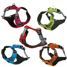 2017 Front Range 3M Reflective high-end Soft Mesh Service Dog Harness