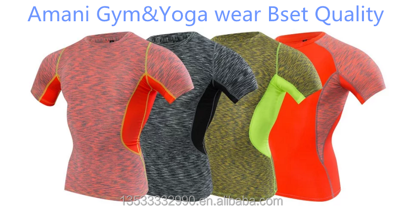 comfortable new design running cycling best quality men yoga gym wear