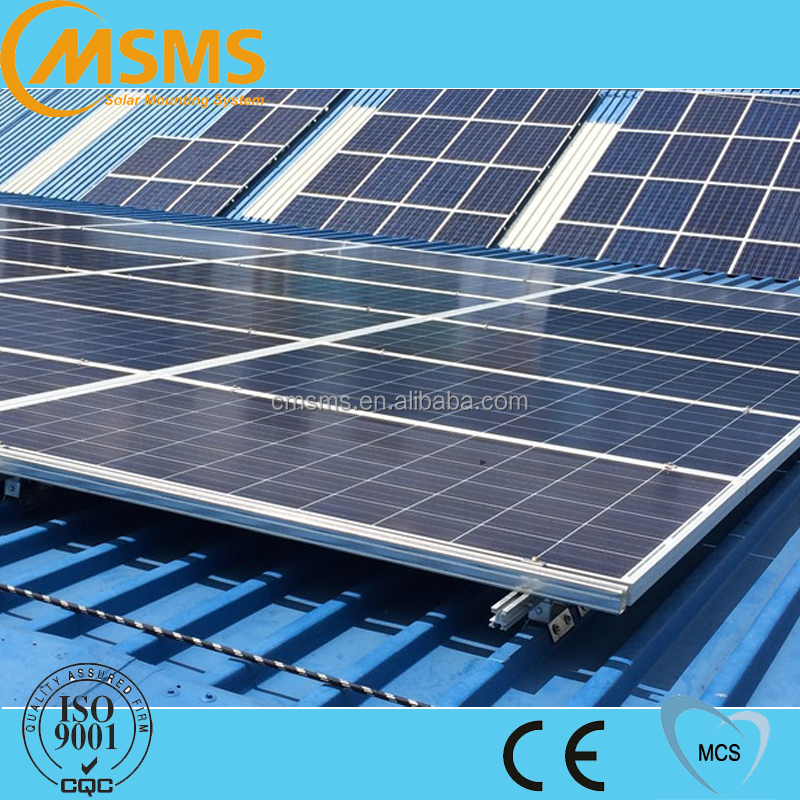 Metal roof solar mounting system solar mounting bracket
