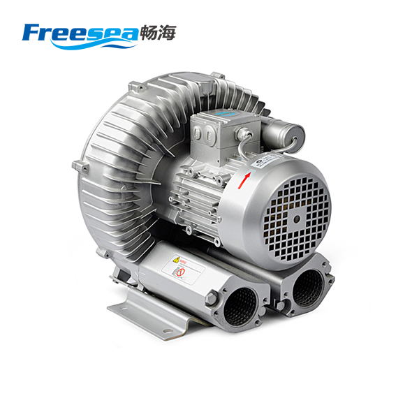 Ultra-quiet electric ring air sucking blower / side channel blower