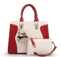 Factory wholesale Casual newest lady fashion handbag in PU leather