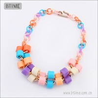 New FASHION Plastic Chain Necklace Jewelry Wholesaler