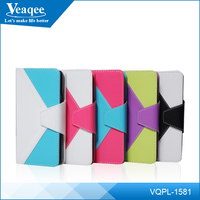 Veaqee multi colored leather cellphone case for iphone 6