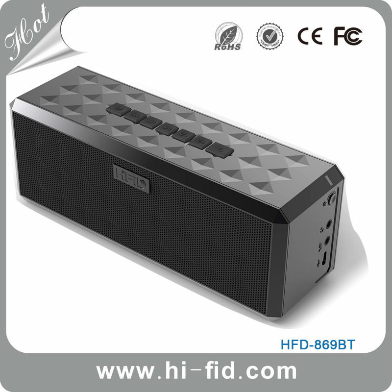 Boombox Wireless Bluetooth Speaker Rated High-Def Sound Quality 10W Portable Wireless Bluetooth Speaker for iPhone iPad