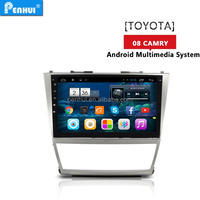PENHUI Android 4.4 Quad core Car PC GPS for Toyota Camry (2008-2011) Suppot auto air-condition version