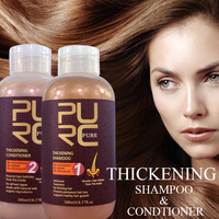 Thickening hair products repair natural hair growth no silicone oils anti for hair loss