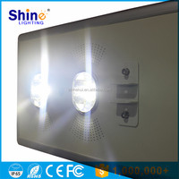 70W COB Hot sale Waterproof IP66 Factory price all in one led solar street light / integrated garden motion sensor lamp