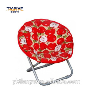 kids outdoor Mini moon chair folding relax beach chair