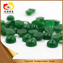Green jade cabochon natural Malay jade in loose gemstone