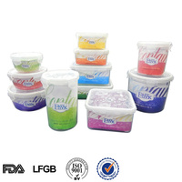 EASYLOCK BPA Free Airtight Microwave Plastic Storage Food Container