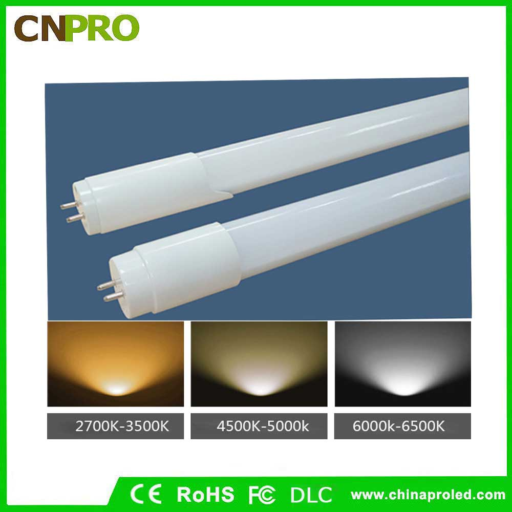 UL/DLC certificate LED T8 Tube SMD 2835 2ft 3ft 4ft 5ft 6ft 8ft T8 led tube light