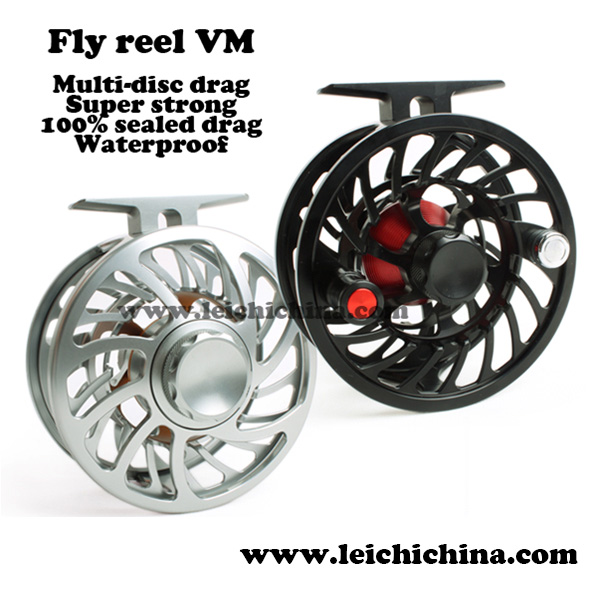 VM in stocair craft T6061 aluminium Saltwater sealed drag waterproof fly reel