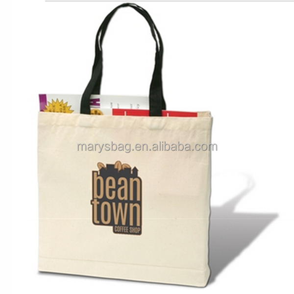 Full Color Trade Show Giveaway Promotional Tote Bag