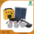 solar lighting system with poly solar panel