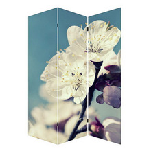 chinese style wooden folding room divider screen