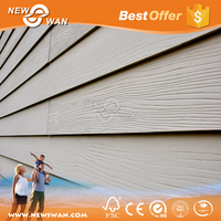 Fiber cement board partition wall / wood grain siding panel