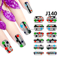 Cartoon Nail Stickers Women Gril 3D DIY Nail Art Decoration Stickers