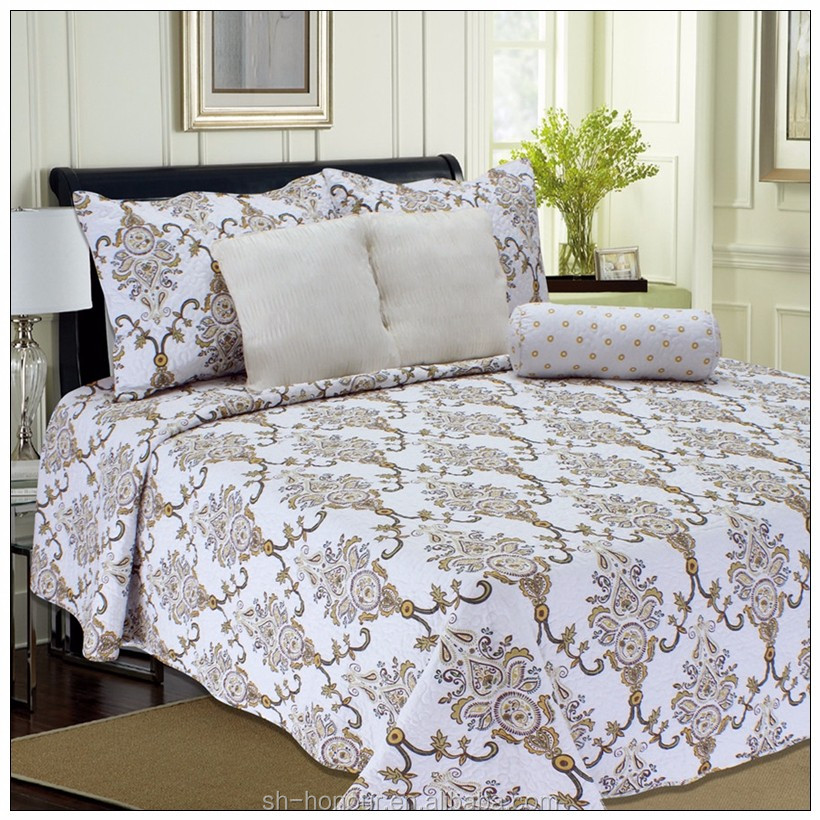 Polyester filling classical SEDEX printed cotton quilt