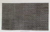PVC coated open weave mesh fabric