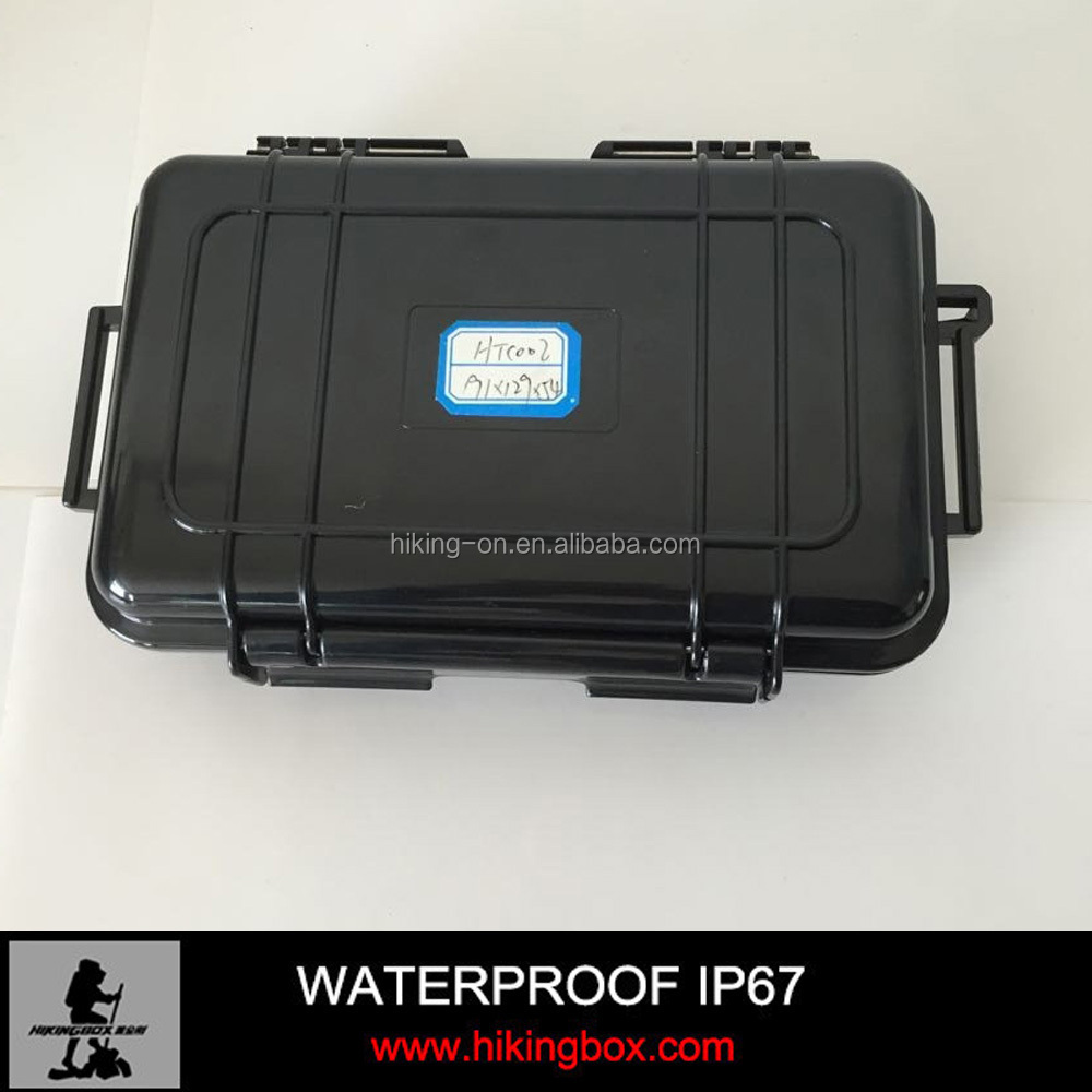 Hard water-tight Plastic Equipment Carrying Case/plastic carrying case IP67 HTC002