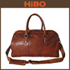 High Quality Genuine Leather Duffle bag Sports Travel Bag