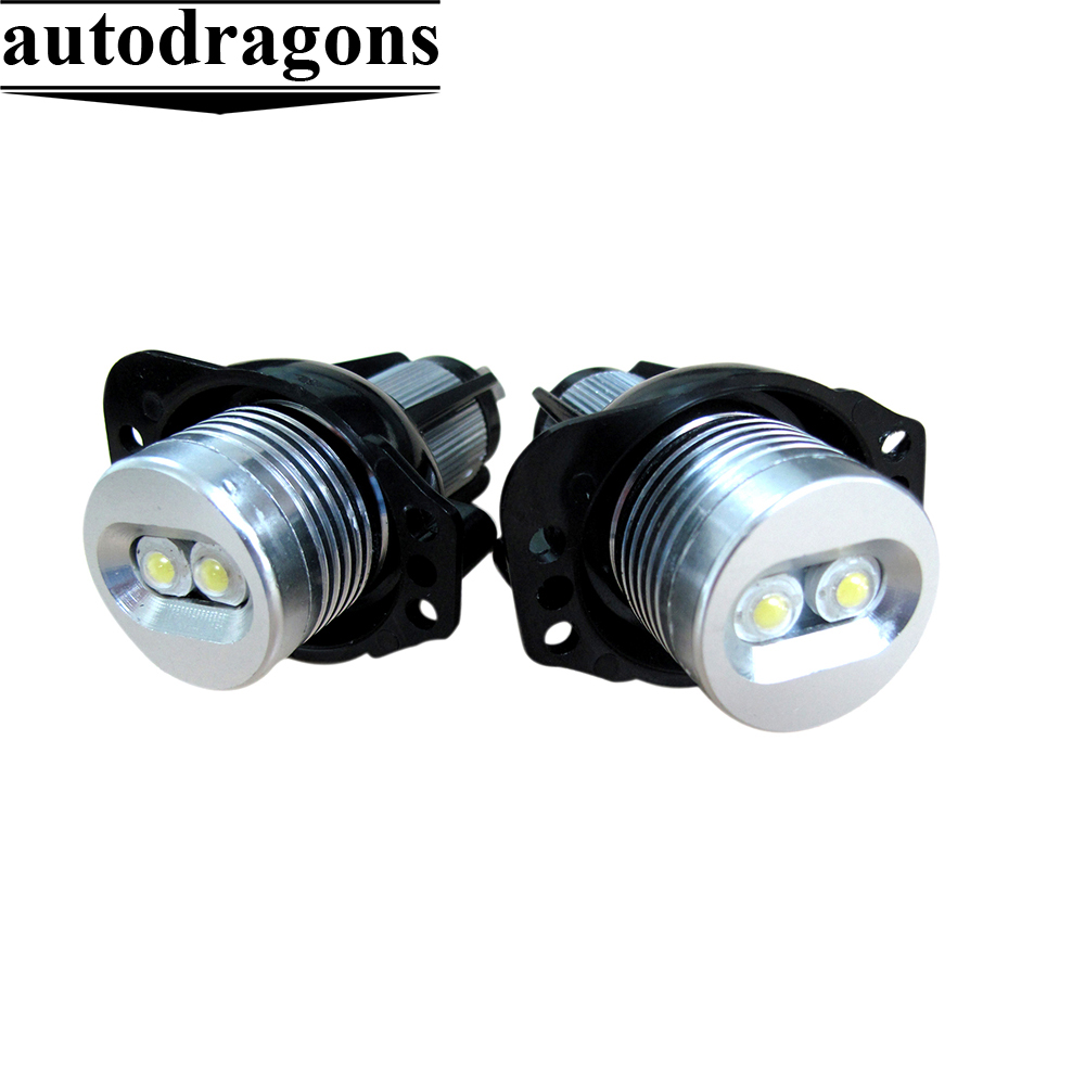 New model E39 10w led angel eyes led marker Xenon White 6000K for bmw E39 E60 E39 M5 E83 X3 E53 X5