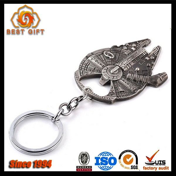 Super quality hot selling zinc alloy keychain bottle opener