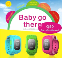 Q50 Android Smart Watch /Newest Child GPS Tracker Smart Watches