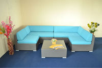 rattan leisure sofa bed furniture