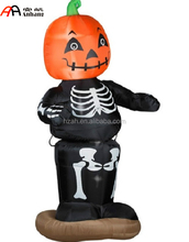 Inflatable Pumpkin Boy for Halloween Decoration/Halloween Skull Pumpkin Man