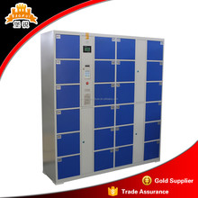 Good price assembled 24 Door Metal gym barcode electronic intelligent parcel delivery locker
