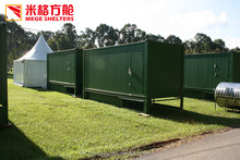 Prefabricated Portable Container Public Bathroom with Toilet and Shower
