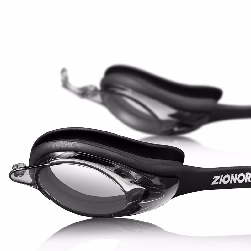 Adult Swim Goggles with Changeable Nose Bridges UV Protect Anti-fog Adjustable Strap OEM Wholesale